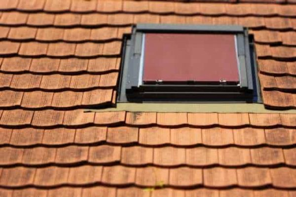 A roof vent with sealed seams