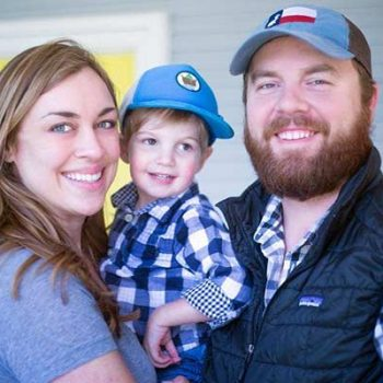 Divided Sky owner John Hardy and his family