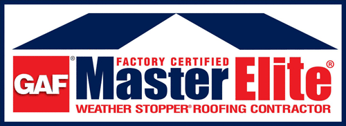 GAF Factory Certified Master Elite Weather Stopper Roofing Contractor