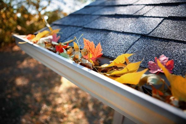 Gutter installed by our Kyle roofing company