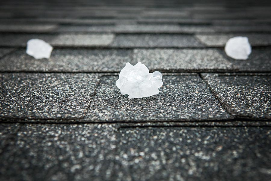 How Ice And Hail Damage Buda Roofs Divided Sky Roofing