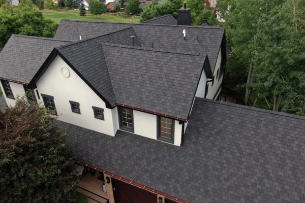 House with a new roof installed by a San Marcos roofing contractor