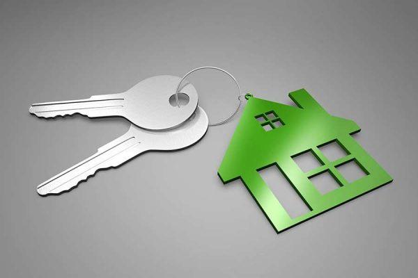 Set of house keys