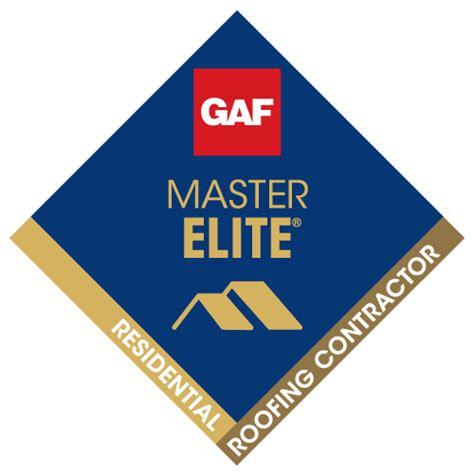 GAF Master Elite Residential Roofing Contractor logo