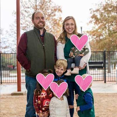 John and Allison Hardy with their son and 4 additional foster children